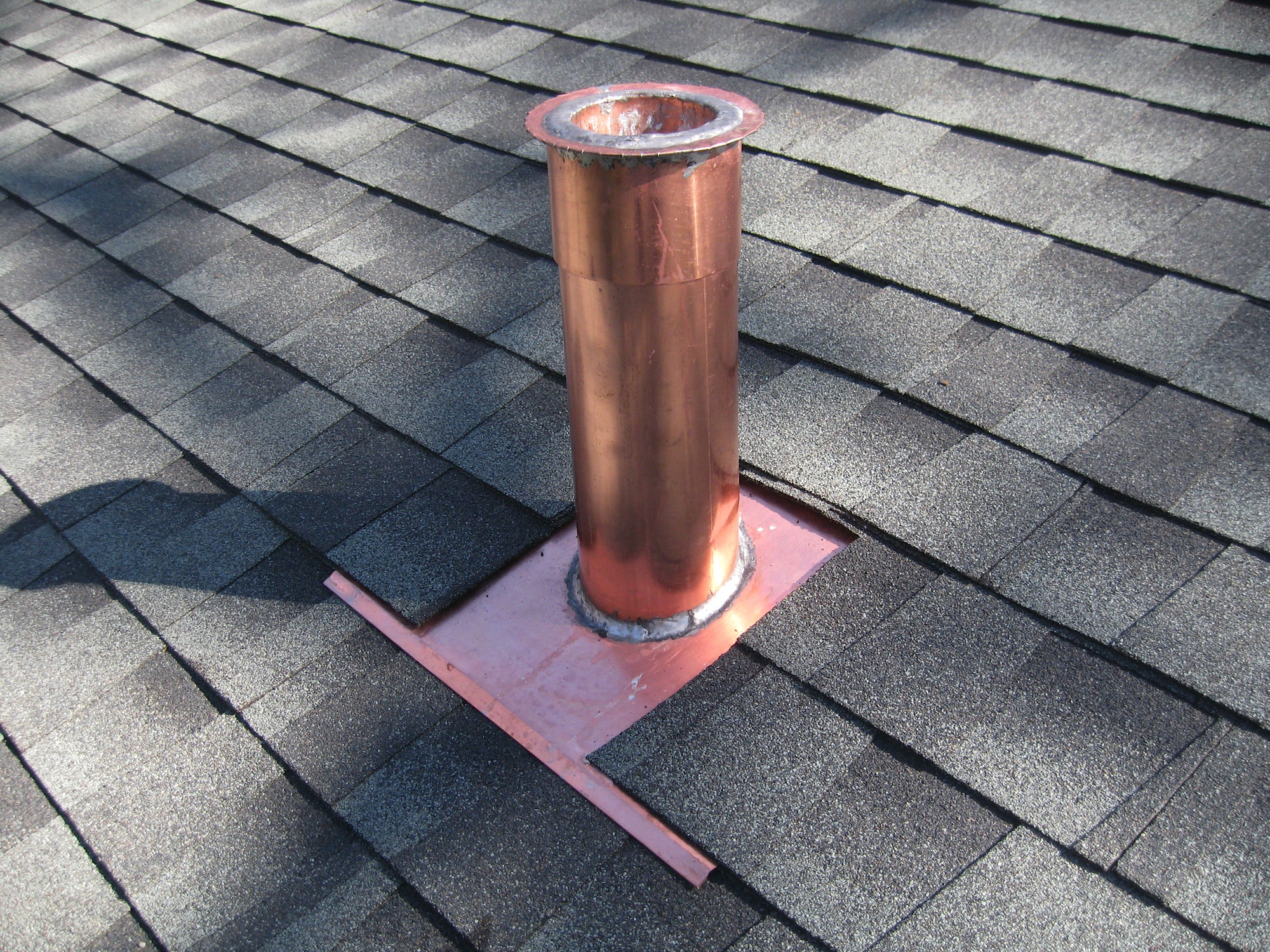 Above All Roofing Flashing Copper Work