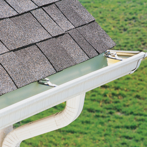 Above All Roofing New Gutter Installation Seamless Gutters
