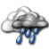 Cloudy with Light Showers Likely